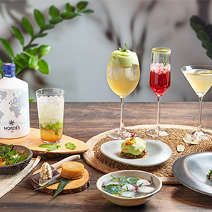 Sabor Nordés, the menu created by Rodrigo de la Calle that pays tribute to the Galician botanicals of our gin.